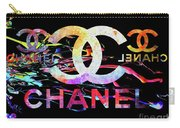 Chanel Black Carry-all Pouch
