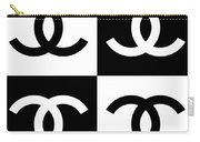 Chanel Design-5 Carry-all Pouch