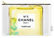 Chanel N 5 Perfume Poster Carry-all Pouch