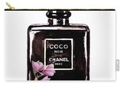 Chanel Noir Magnolia Pink Carry-all Pouch