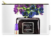Chanel Noir Perfume Bottle Carry-all Pouch