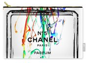 Chanel No. 5 White Carry-all Pouch