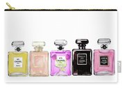 Chanel Perfume Print Set Chanel Poster Carry-all Pouch