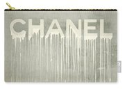 Chanel Plakative Fashion - Simple Beige Carry-all Pouch