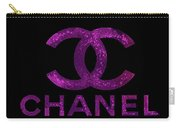 Chanel Print Carry-all Pouch