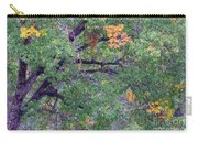 Changing Of The Seasons Carry-all Pouch by Mary Deal