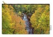 Chapel Falls Autumn Upper Peninsula Michigan Carry-all Pouch