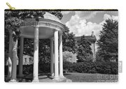 Chapel Hill Old Well In Black And White Carry-all Pouch