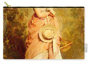 Chaplin Charles La Jeune Fille Aux Colombes Carry-all Pouch