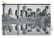 Charcoal Big D Reflection Carry-all Pouch