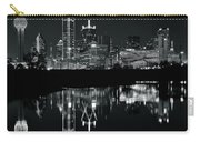Charcoal Night In Dallas Carry-all Pouch