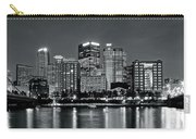 Charcoal Panoramic In Pittsburgh 2017 Carry-all Pouch