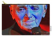 Charles Aznavour Carry-all Pouch