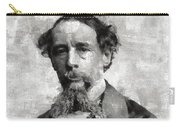 Charles Dickens Author Carry-all Pouch