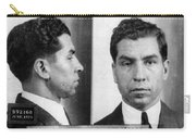 Charles Lucky Luciano Mug Shot 1931 Horizontal Carry-all Pouch