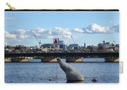 Charles River Boston Ma Crossing The Charles Citgo Sign Mass Ave Bridge Carry-all Pouch