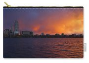 Charles River Vibrant Sunset Boston Ma Carry-all Pouch
