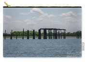 Charleston Export Coal Terminal Wooden Testle Carry-all Pouch