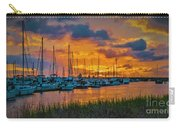 Charleston Marina Sunset  Carry-all Pouch