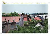 Charleston Rooftops - Queen And Church Streets Carry-all Pouch