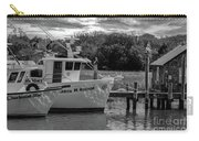 Charleston Star In Monochrome Carry-all Pouch
