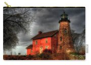 Charlotte-genesee Lighthouse  Carry-all Pouch by Joel Witmeyer