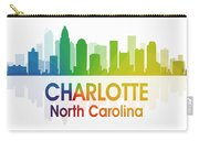 Charlotte Nc Carry-all Pouch by Angelina Vick