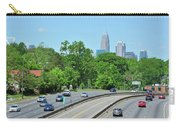 Charlotte Skyline From A Distance Carry-all Pouch