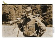 Charlton Heston Hunting In Alaska Carry-all Pouch