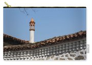 Charming Chimneys - Slender Ceramic Filigree Cap Carry-all Pouch