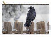 Charming Corvid Carry-all Pouch