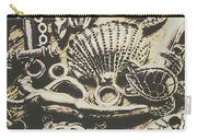 Charming Seashore Symbols Carry-all Pouch