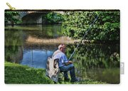 Chartres, France, A Good Day Fishing Carry-all Pouch