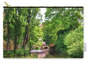 Chartres, France, Park On L'eure River Carry-all Pouch
