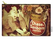 Chase And Sanborn Carry-all Pouch