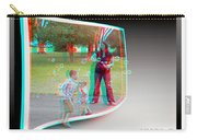 Chasing Bubbles - Use Red-cyan 3d Glasses Carry-all Pouch
