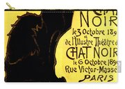 Chat Noir Vintage Carry-all Pouch