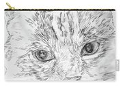 Chat Somnolant Resting Cat Carry-all Pouch