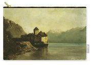 Chateau De Chillon Carry-all Pouch by Gustave Courbet
