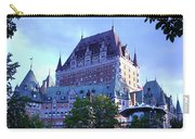Chateau Frontenac, Montreal Carry-all Pouch