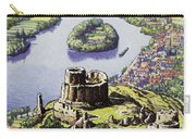Chateau Gaillard, Also Known As The New Castle Of The Rock  Carry-all Pouch