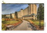 Chateau Lake Louise Alberta Canada Carry-all Pouch