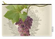 Chateau Pinot Noir Vineyards - Vintage Style Carry-all Pouch