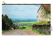 Chateauneuf, Cote-d'or, France, Village Lane Carry-all Pouch