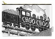 Chattanooga Choo Choo Sign In Black And White Carry-all Pouch