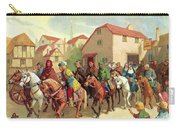 Chaucer's Pilgrims Carry-all Pouch