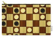 Checkerboard Generated Seamless Texture Carry-all Pouch