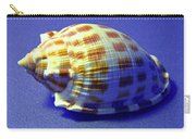 Checkered Helmet Seashell Carry-all Pouch
