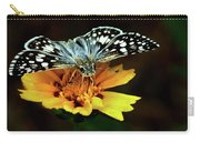 Checkered Skipper Horizontal Carry-all Pouch