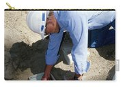 Checking Seismometer Carry-all Pouch
